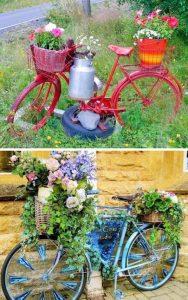 bicicleta-veche-suport-flori